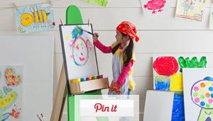 Portable Kid's Artist Easel