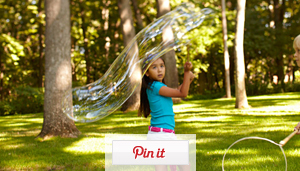 Giant Bubble Wand in Minutes