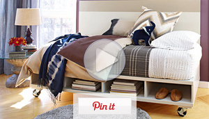 Watch: Turn a Door into a Daybed