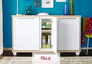 Double Duty Storage Ideas