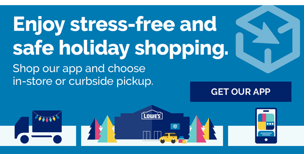 Stress-free holiday shopping. Shop our app or online and choose delivery or curbside pickup.