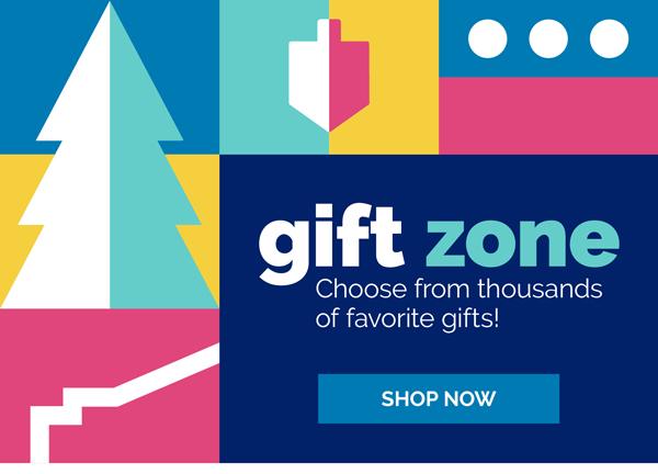 Gift Zone.
