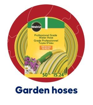 Garden hoses.